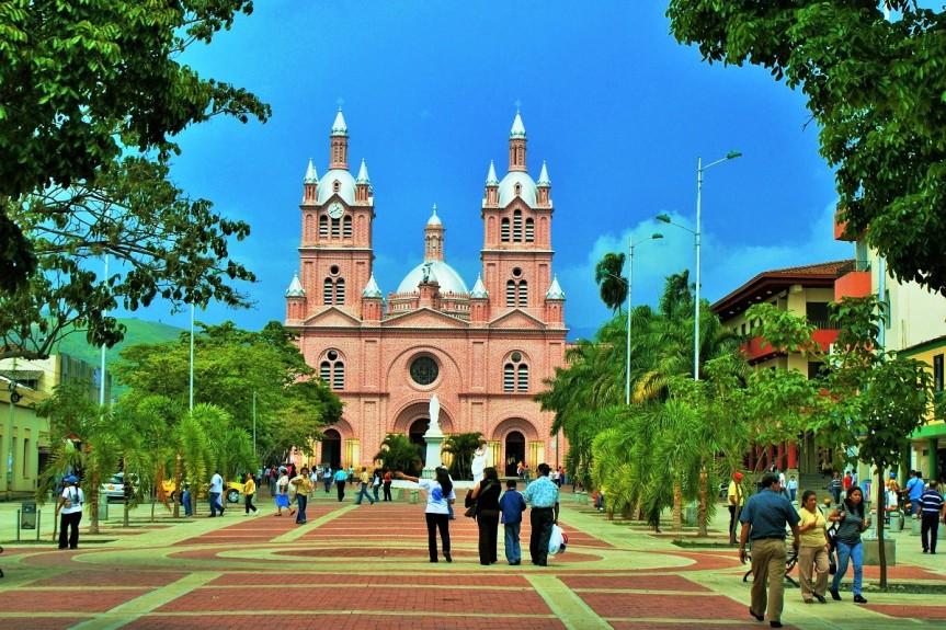 Basilica del Señor de los Milagros en Búga