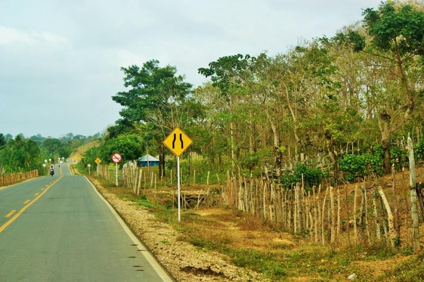 Carretera de Lorica hacia Montería