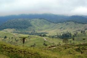 Cordillera Central ruta a la Laguna del Otún