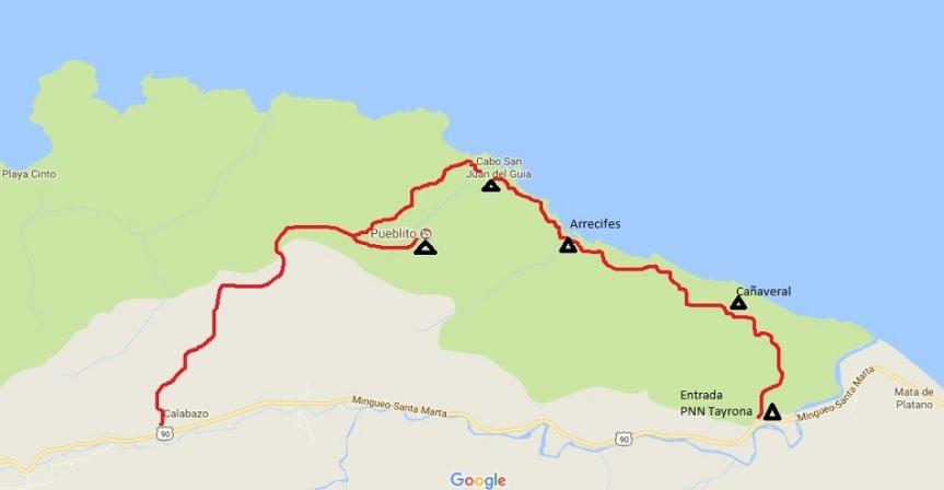 sendero-pnn-tayrona-mapa-de-ruta