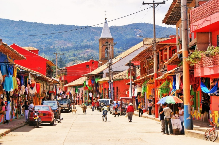 Municipio de Ráquira enBoyacá