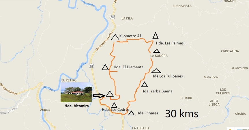 mapa-recorrido-bicicleta-fincas-ganaderas