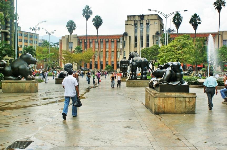 Medellín – La PlazaBotero
