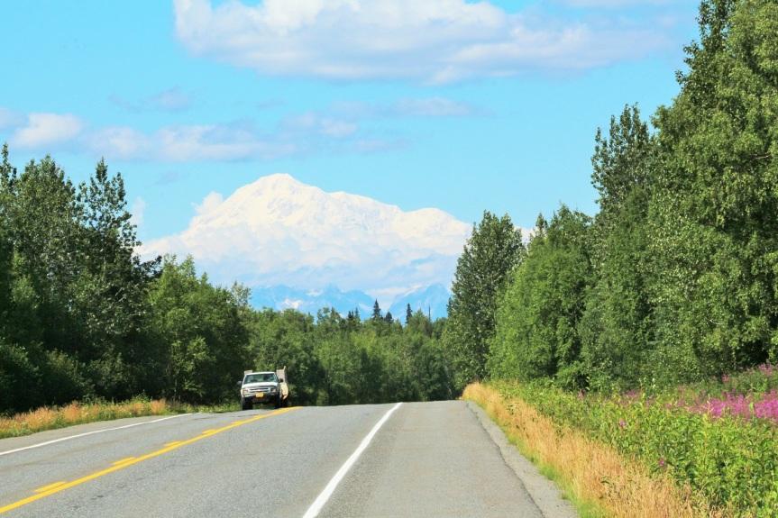 Monte Denali o Mckinley enAlaska
