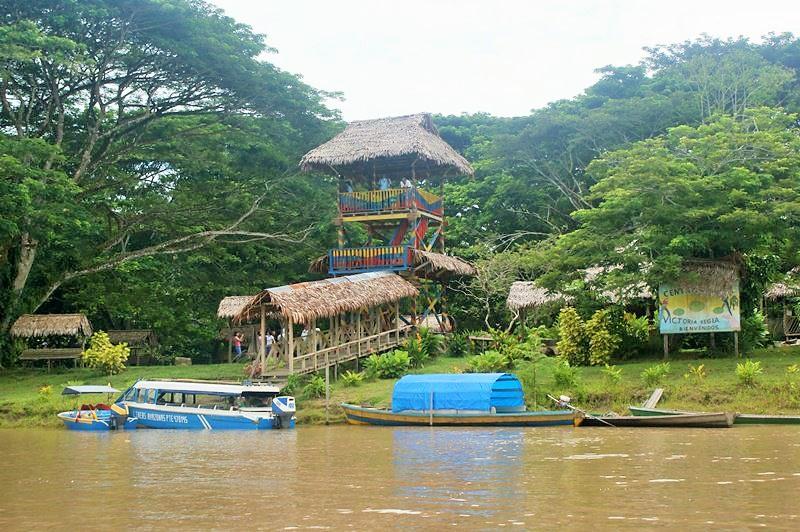 Reserva Natural Victoria Regia a orillas del RioAmazonas.