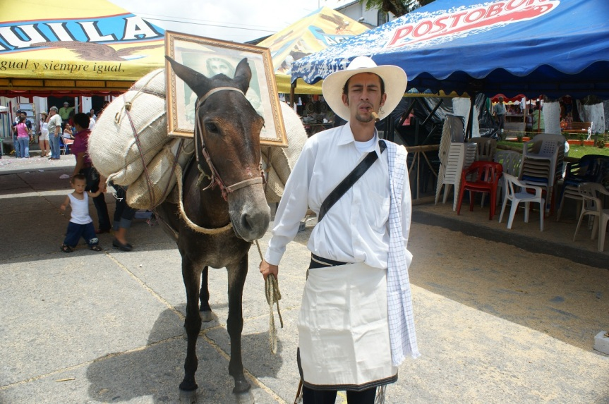 La Fiestas de la Ceiba en Victoria enCaldas
