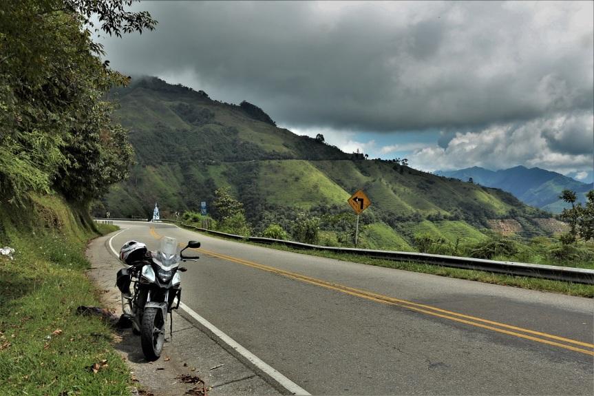 Cruzando la CordilleraCentral