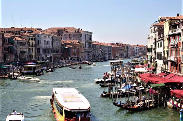 Visita a Venecia enItalia